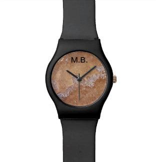 Mens Monogram Design Watch