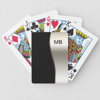 Men's Monogram Style Poker Deck