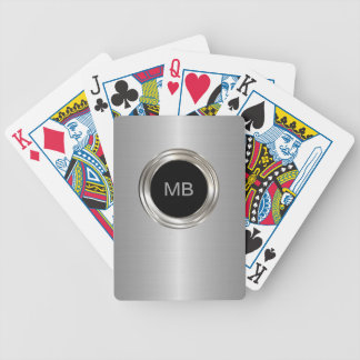 Men's Monogram Style Poker Deck