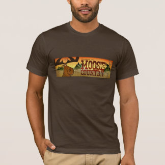 Men's Moose Banner T-Shirt