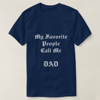 Men's My Favorite People navy blue t-shirt