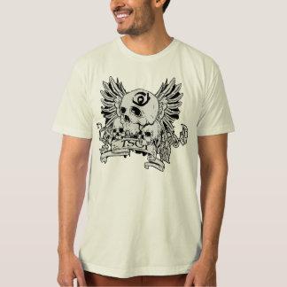 Men's Natural TSOI skull w/ wings T-Shirt