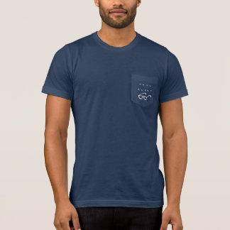 Men's Nerd Alert dark pocket t-shirt
