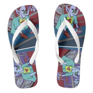 Men's nutsncrazy flip flops USA sizes 3-12