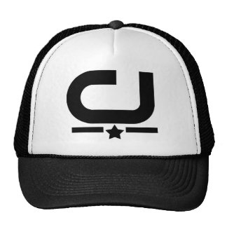 Men's Official C&J SupaStar Trucker Hat, Black Cap