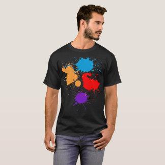 Men's Paint Splatter T-Shirt