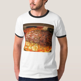 Men's Pizza T Tee Shirts
