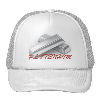 Mens Platenhim Diamond Collection Trucker Hat