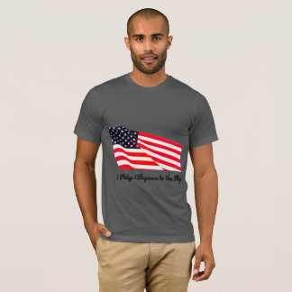 Men's Pledge Allegiance Flag Americana T-Shirt