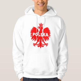 Men's Poland Polska Eagle Hoodie