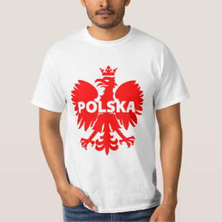 Men's Poland Polska Eagle T-Shirt