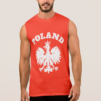 Men's Polish Pride Eagle Symbol Sleeveless Shirt