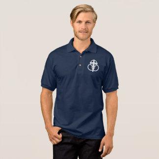 Men's Polo: Modern Logo Polo Shirt