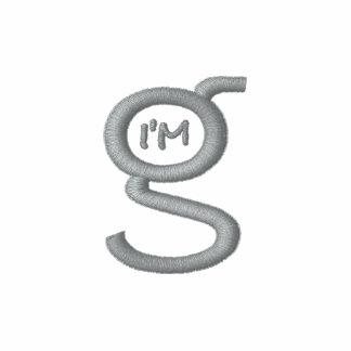 Mens Polo Shirt w Grey Logo