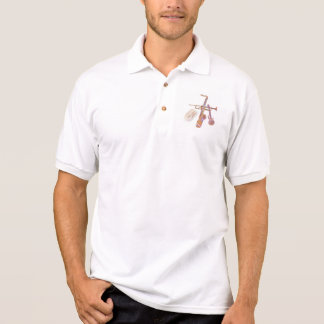 Mens polo shirt with jazz