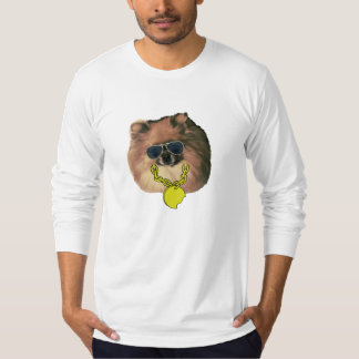 Men's Pomeranian Long Sleeved T-Shirt