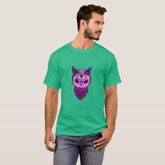 Men's Pop Art Owl Shirt