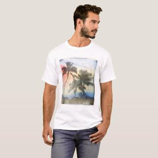 Men's Printed T-Shirt Palm Trees