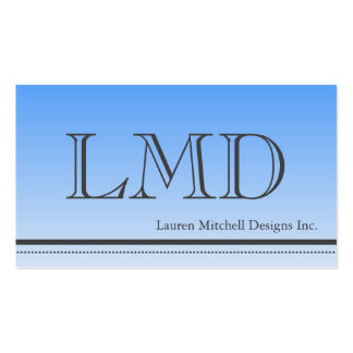 Mens Professional Modern Design Business Card