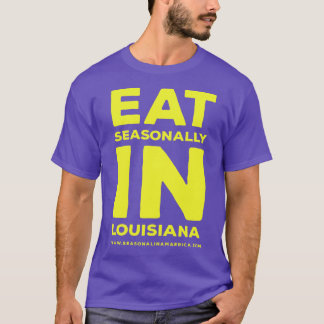 Men's Purple and Gold Seasonal in LA T-Shirt