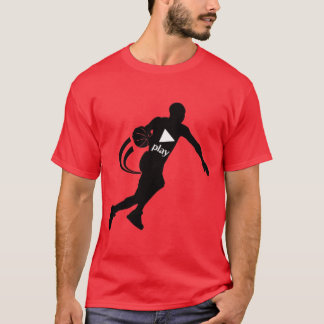 MENS PUSH PLAY BASKETBALL T-SHIRT