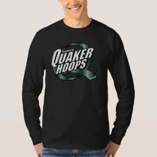 Mens Quaker Hoops Long Sleeve T T-Shirt