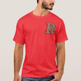 Men's Red Basic Dark T-Shirt