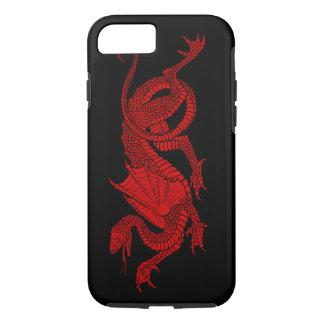 Men's Red Dragon iPhone 7 Case
