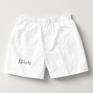 "Men's ""RELAX"" Boxercraft Cotton Boxers"