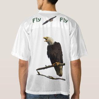 "Men's  Replica Football Jersey ""Fly eagles fly"""