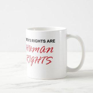 Men's Rights are Human Rights mug
