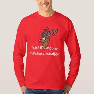 Mens Rudolph Christmas T-Shirt