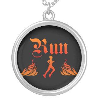 Mens Running Necklace