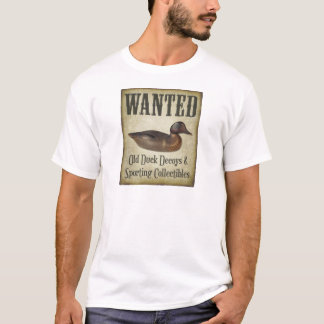 Men's Shirt - Wanted: Decoys