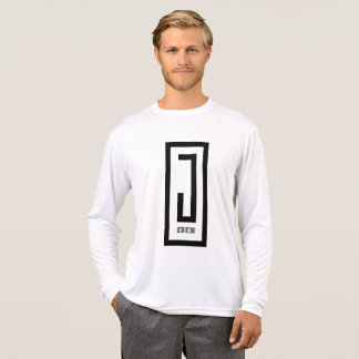 mens silk long sleeve j wear design tee