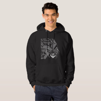 Men's Skeleton Skull Spider Hooded Sweatshirt