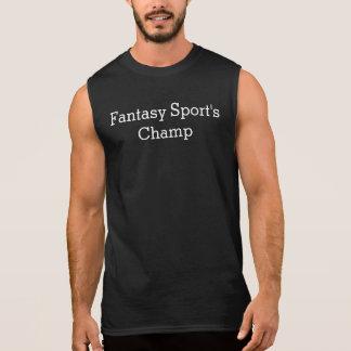 Men's sleeveless shirt (Fantasy Sports Champ)