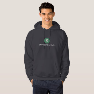 Men's Startups Give Back Hooded Sweatshirt