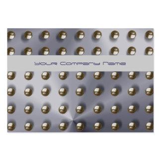 Men's, steel, metal, professional business card template