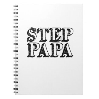 Mens Step Papa Bear Father's Day Notebooks