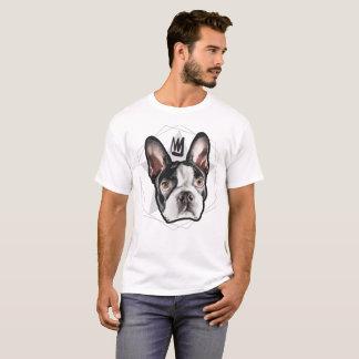 Mens Streetwear: King Boston Terrier T-Shirt