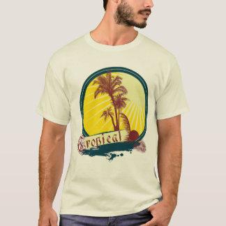 Men's Summer Tropical T-Shirt