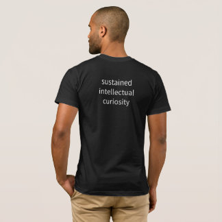 "Men's - ""sustained intellectual..."" T-Shirt"