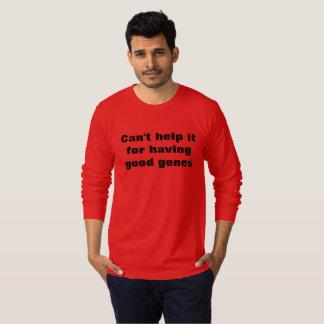 Men's sweater Can't help it for having good genes