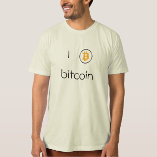 Mens' T-Shirt Bitcoin Logo