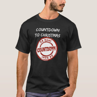 Men's T-Shirt Countdown to Christmas