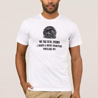 men's t-shirt dig real books