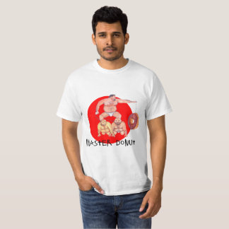 Mens t-shirt master donut bears design
