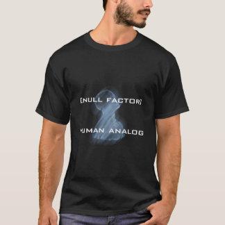 men's t-shirt, [null factor]human analog T-Shirt
