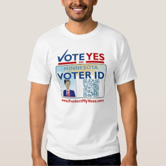 Men's T-Shirt - Vote YES on Voter ID